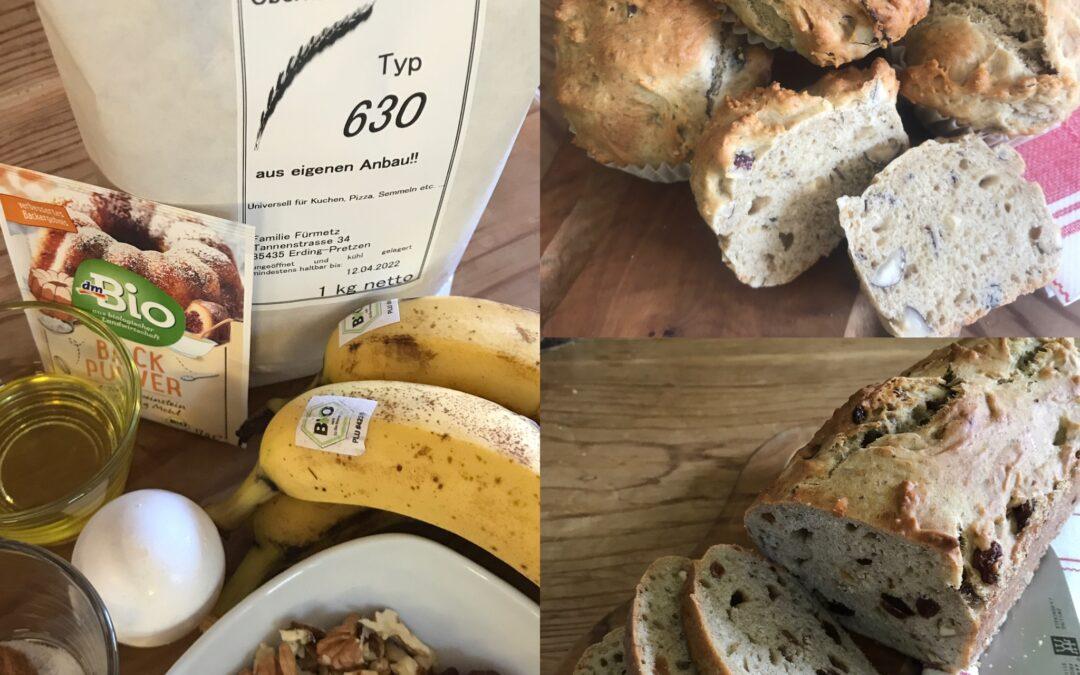 Bananenbrot – saftig & natürlich süß
